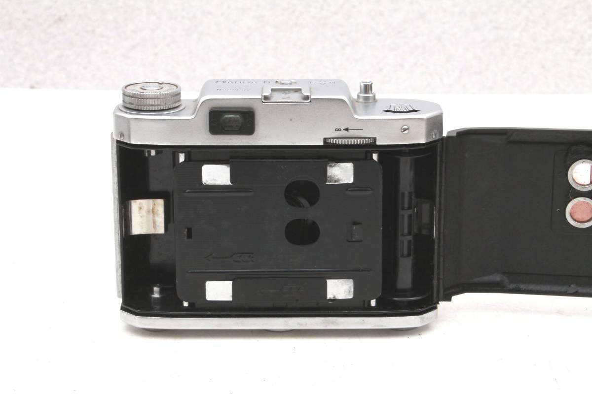 マミヤ 蛇腹カメラ MAMIYA-6 ケース付 レトロ アンティーク ビンテージ 032216_画像9