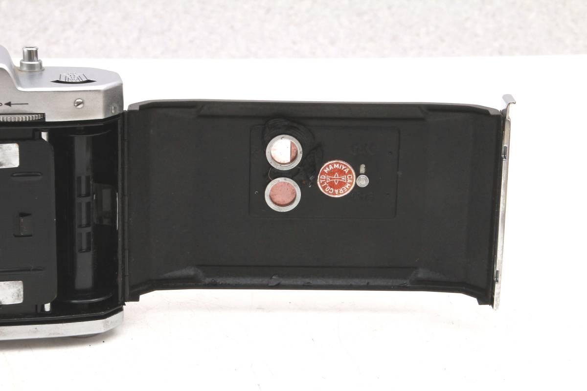 マミヤ 蛇腹カメラ MAMIYA-6 ケース付 レトロ アンティーク ビンテージ 032216_画像10