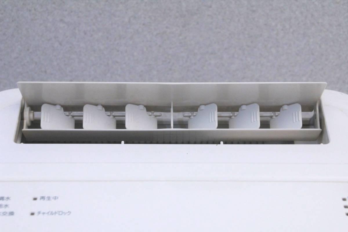 ダイキン DAIKIN 2011年製 床置形 除加湿清浄機 クリアフォース MCZ65M-W 説明書付 空気清浄機 脱臭 集塵 04109_画像6