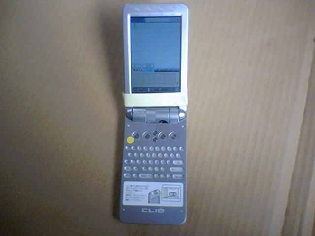 群青 HotSync可赤外線通信可でカメラ可CLIE PEG-NX80スタイラス無し.複数件落札同時発送なら値引き可_画像3