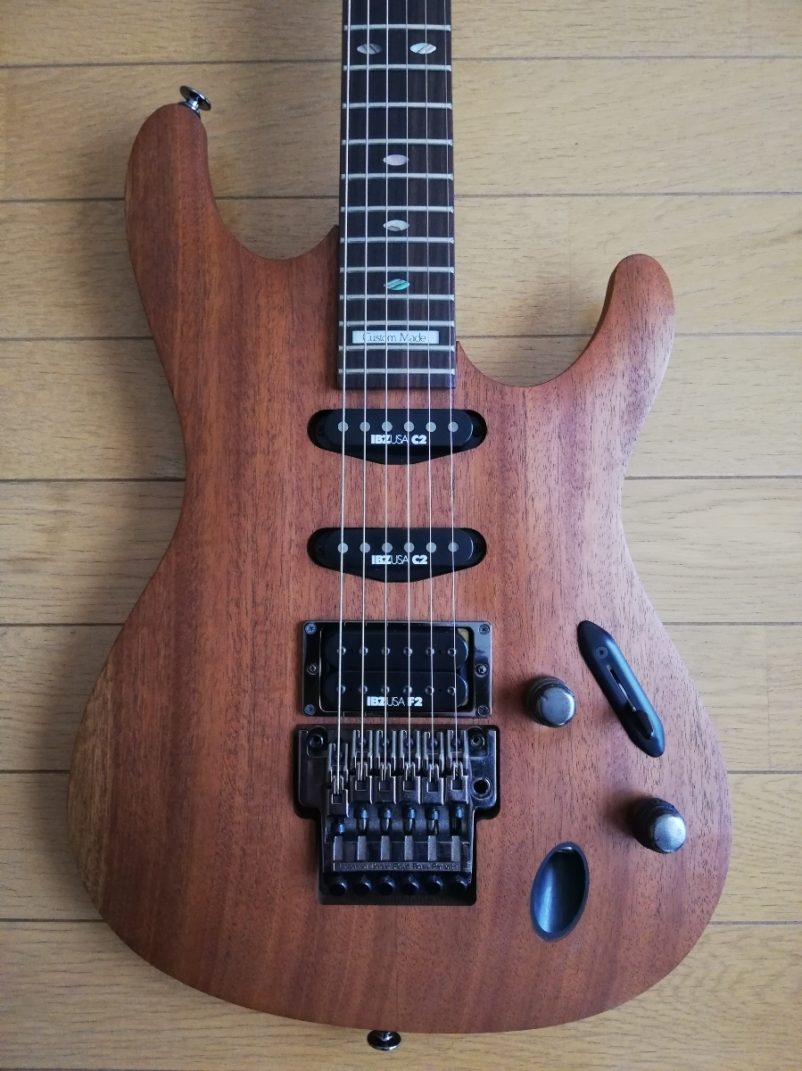 Ibanez 540S Oil finish natural S series Custom made _画像4