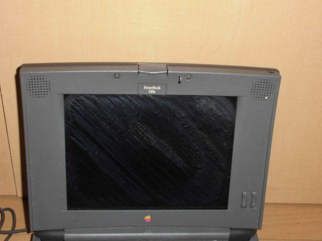 動作品★Apple PowerBook 540c メモリ増設済み オールドMac マック_画像2
