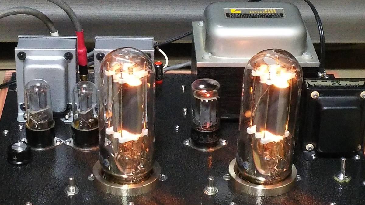 出力管なし 845 シングルアンプ 低電圧動作 ラックス 10F310 サンスイC-5-200 ゼネラル PMF-15WS_画像6