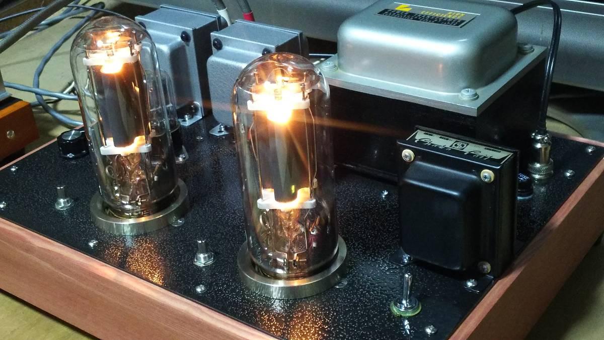 出力管なし 845 シングルアンプ 低電圧動作 ラックス 10F310 サンスイC-5-200 ゼネラル PMF-15WS_画像7