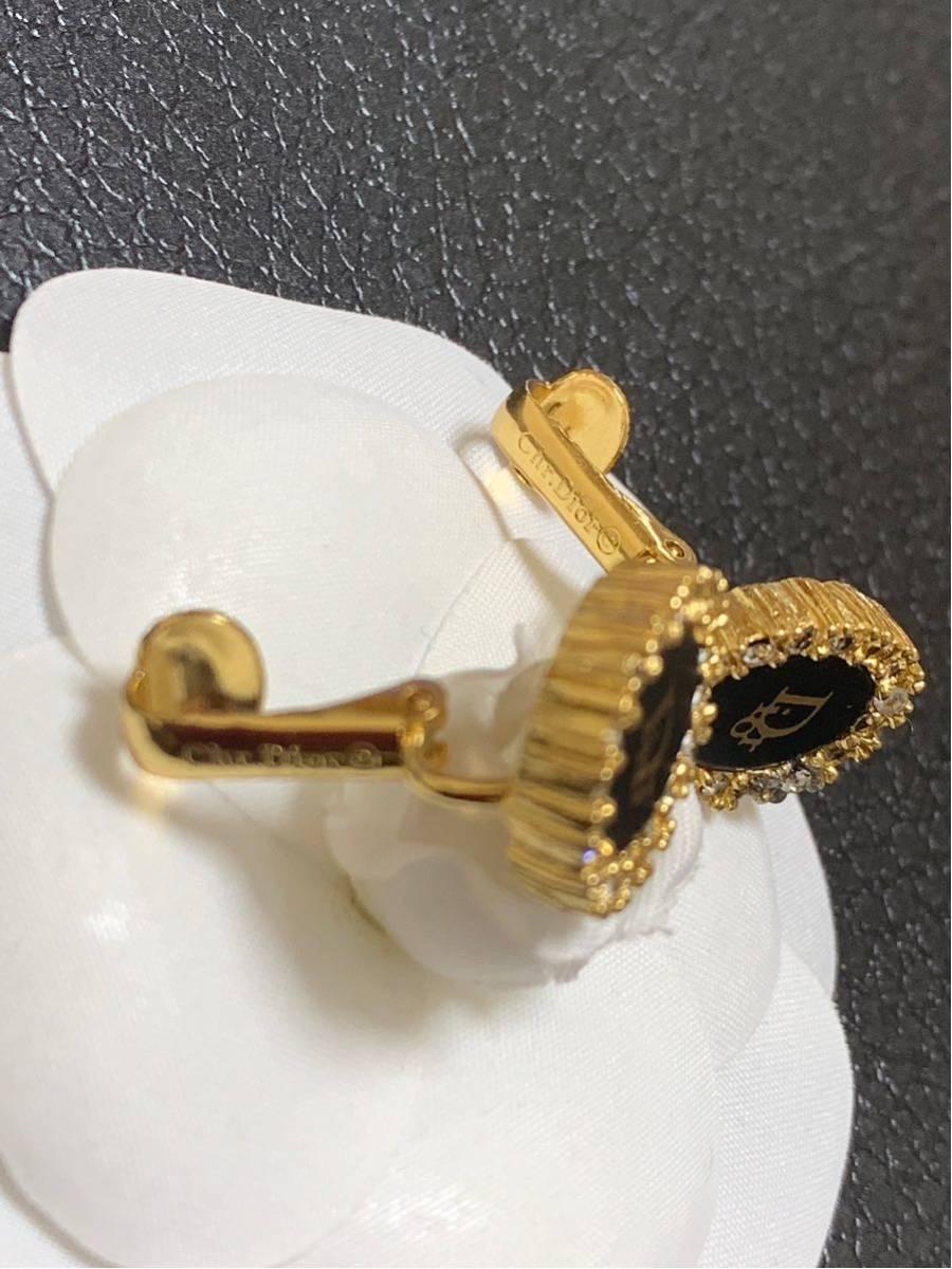 クリスチャンディオール ヴィンテージ イヤリング Dior イヤリング ゴールド ピアス _画像5