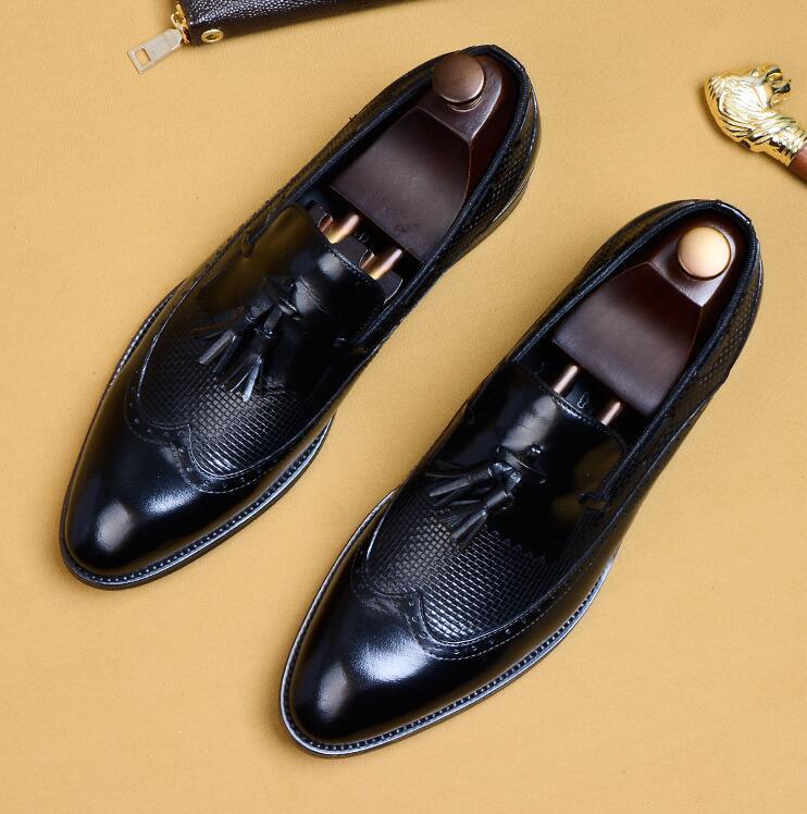 新品100%純手工★上層牛革ブーツ ブーティ 紳士ビジネスシューズ メンズシューズ レザーブーツ マーチンブーツ サイズ選択可 B5_画像2