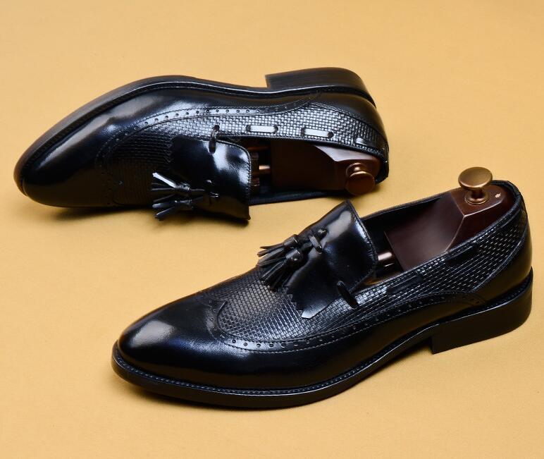新品100%純手工★上層牛革ブーツ ブーティ 紳士ビジネスシューズ メンズシューズ レザーブーツ マーチンブーツ サイズ選択可 B5_画像3