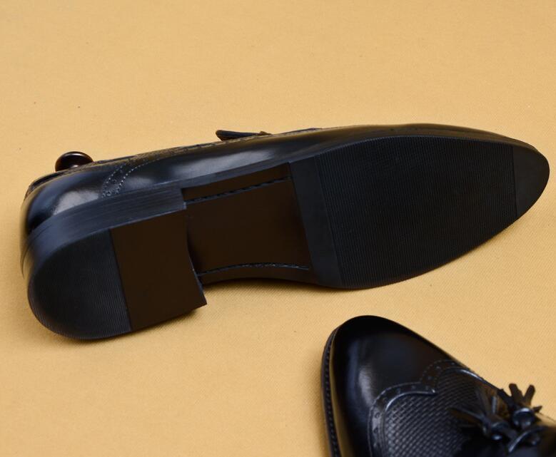 新品100%純手工★上層牛革ブーツ ブーティ 紳士ビジネスシューズ メンズシューズ レザーブーツ マーチンブーツ サイズ選択可 B5_画像6