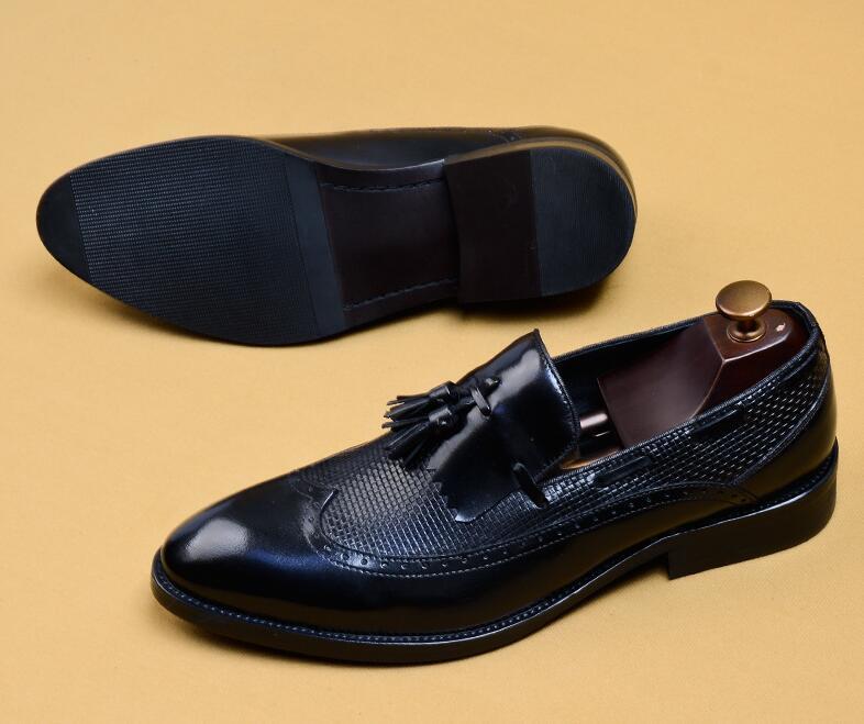 新品100%純手工★上層牛革ブーツ ブーティ 紳士ビジネスシューズ メンズシューズ レザーブーツ マーチンブーツ サイズ選択可 B5_画像4