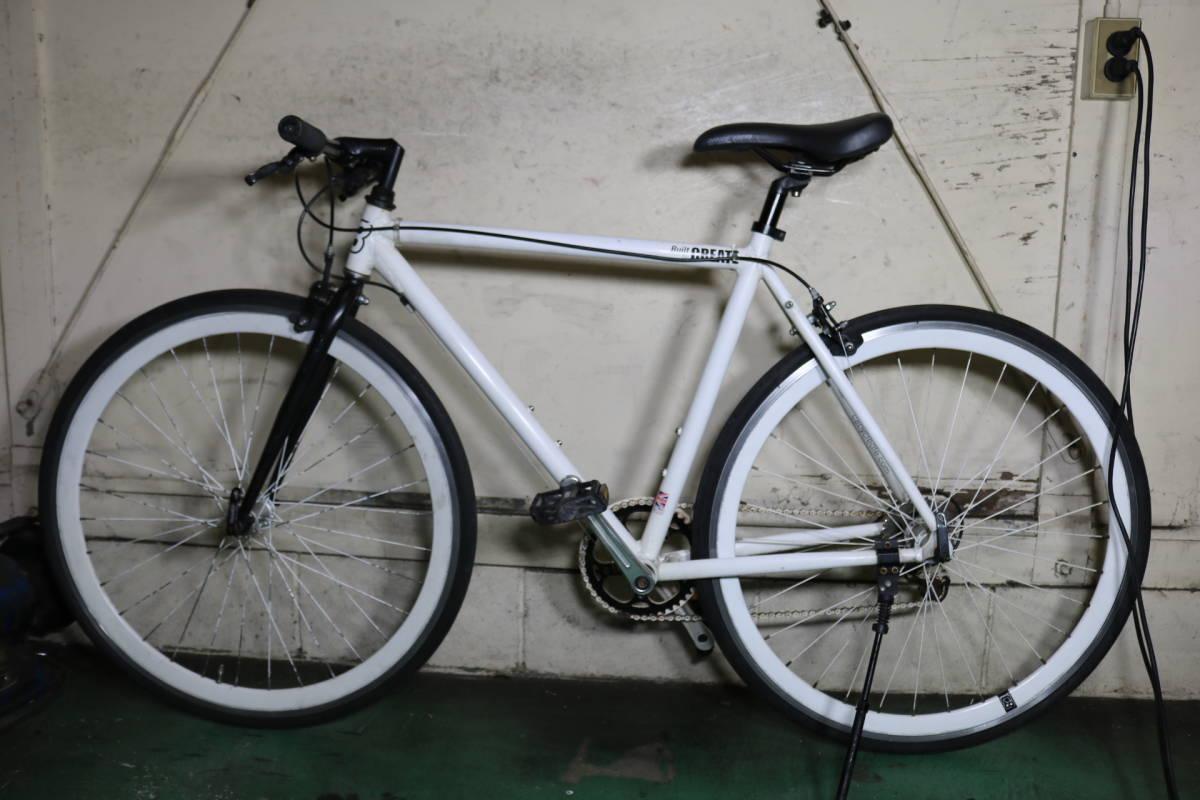 良品!イギリスcreate bike 700C アルミ 8速 520mm クロス _画像2