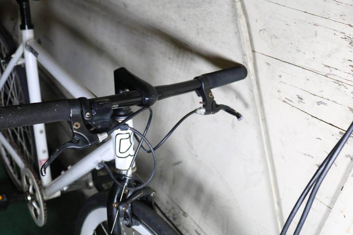良品!イギリスcreate bike 700C アルミ 8速 520mm クロス _画像3