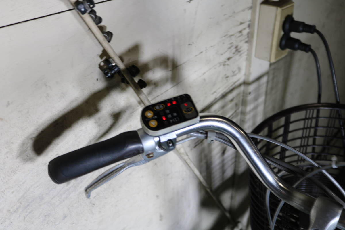新基準良品!ヤマハPAS X551-1020リチウム4AH 26インチ 3段 LED _画像3