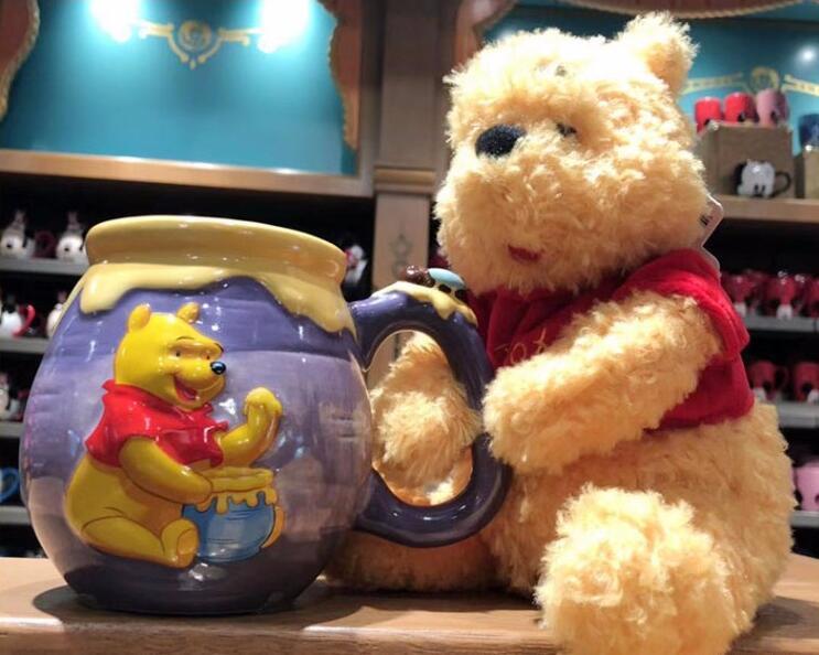 Winnie the Poohカップ 大人気! マグカップ 可愛いカップ カトンカップ 新品未使用 ティーカップ コーヒーカップ