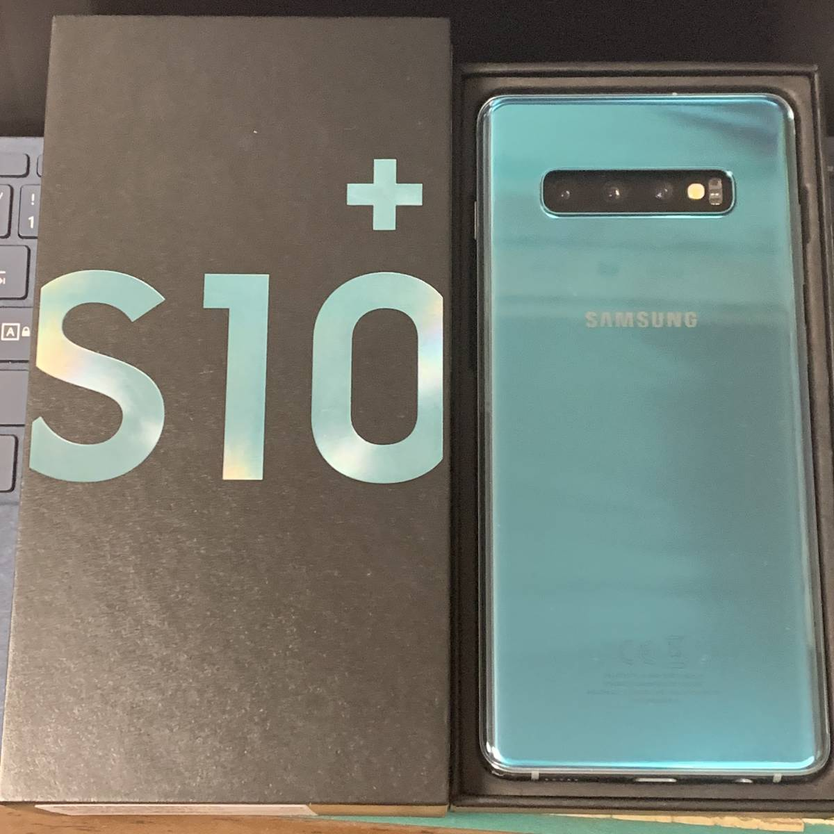 Galaxy S10+ SM-G975F/DS Prism Green