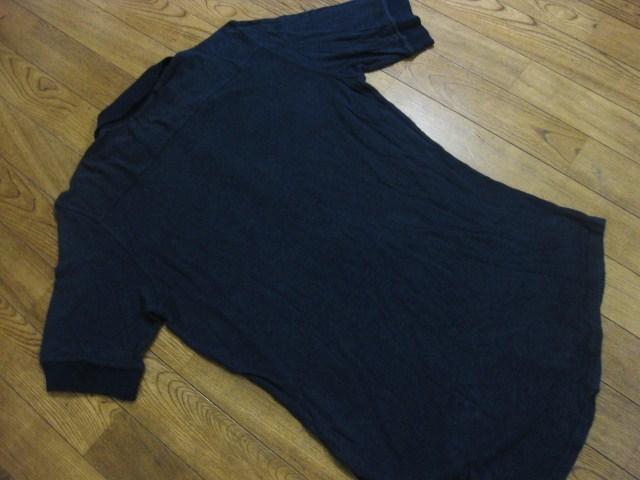 初期 Vivienne Westwood MAN ヴィヴィアンウエストウッドマン リネン混 麻 変形デザイン 半袖 ポロシャツ S 伊製 イタリア製 MADE IN ITALY_画像6