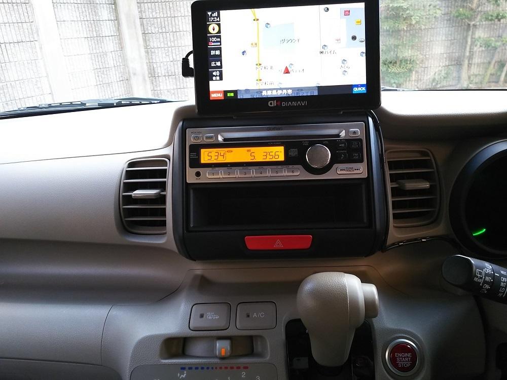 H24 ホンダ N BOX G 4WD 車検2年込 車検33年4月まで ブラックパール_画像10