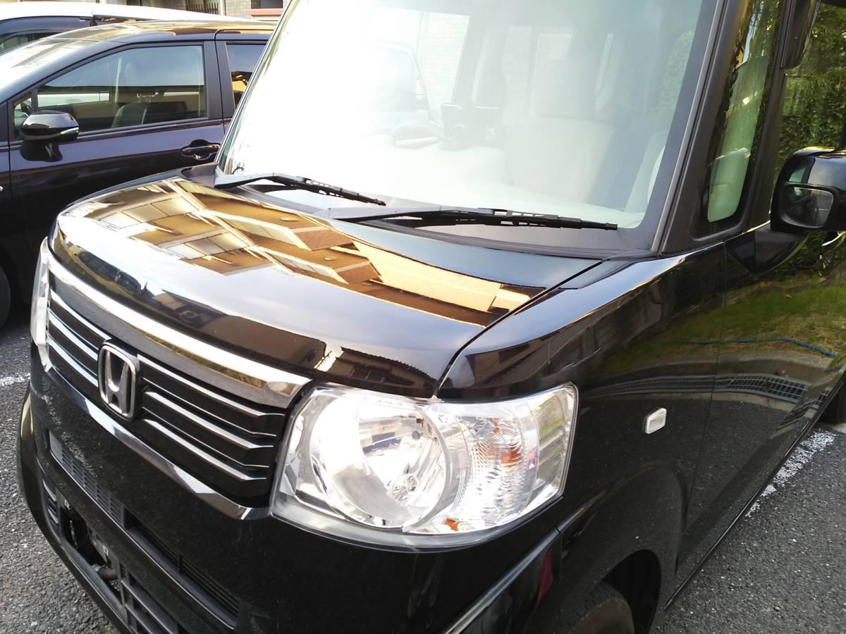 H24 ホンダ N BOX G 4WD 車検2年込 車検33年4月まで ブラックパール_画像2