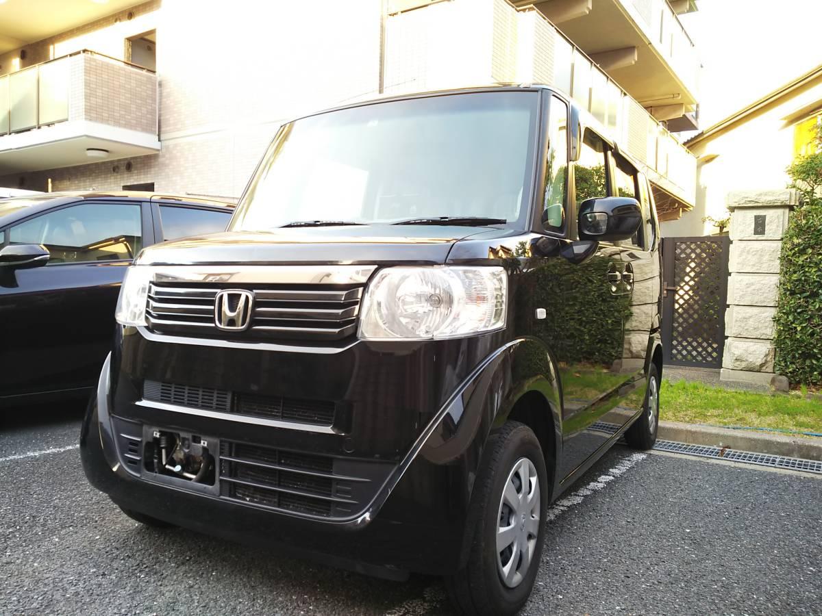 H24 ホンダ N BOX G 4WD 車検2年込 車検33年4月まで ブラックパール