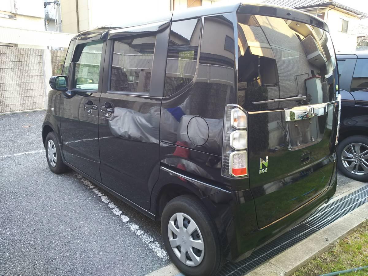 H24 ホンダ N BOX G 4WD 車検2年込 車検33年4月まで ブラックパール_画像5