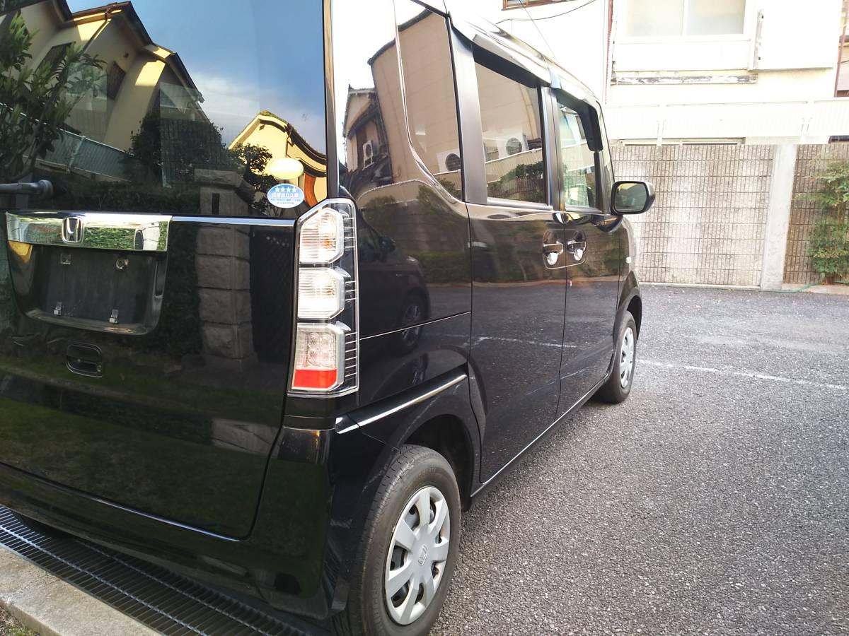 H24 ホンダ N BOX G 4WD 車検2年込 車検33年4月まで ブラックパール_画像7