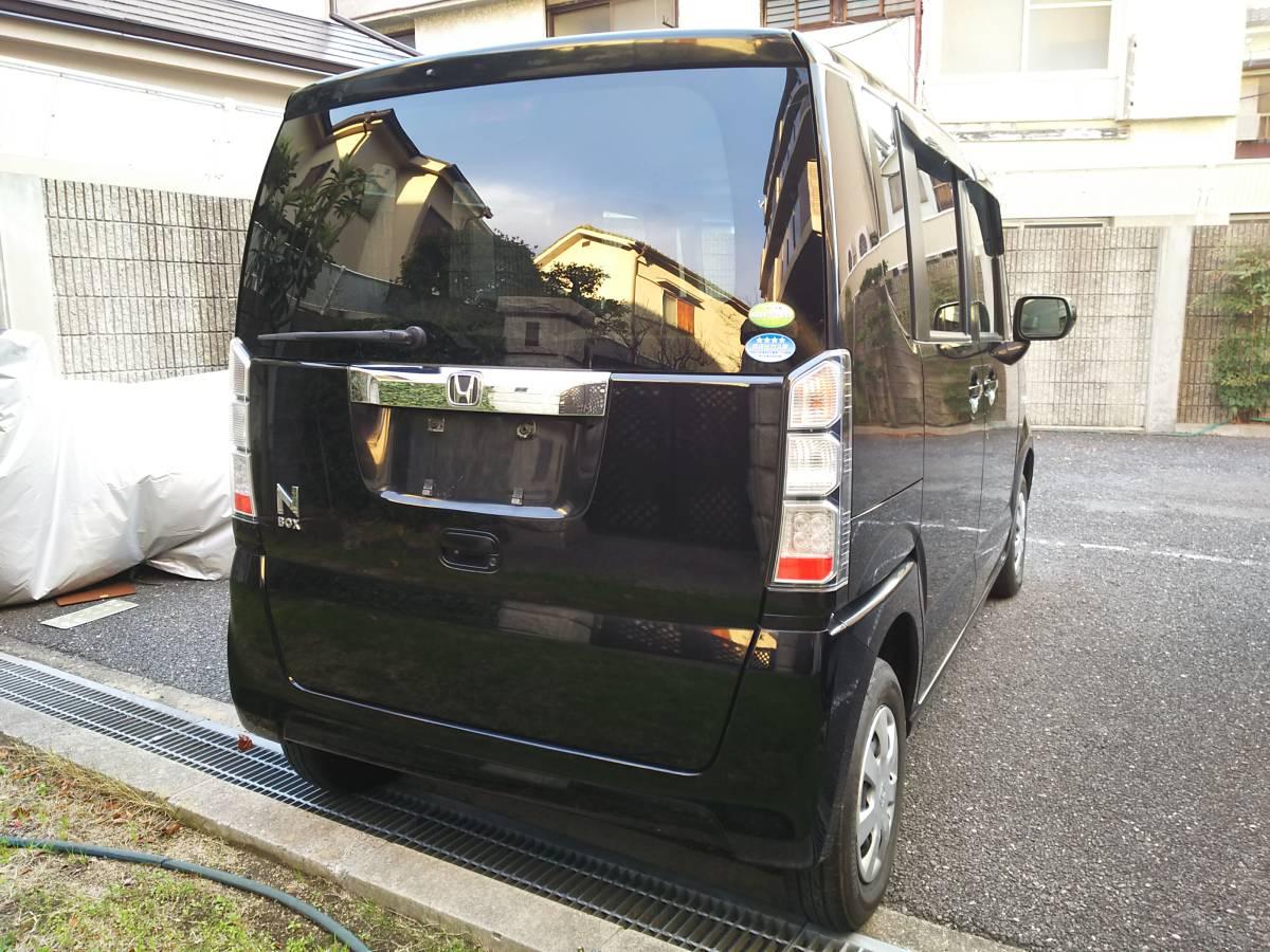 H24 ホンダ N BOX G 4WD 車検2年込 車検33年4月まで ブラックパール_画像6
