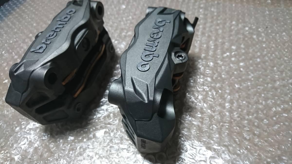 【送料込み】brembo ブレンボキャリパー ラジアルマウント モノブロック 100mmピッチ 100ミリ_画像3