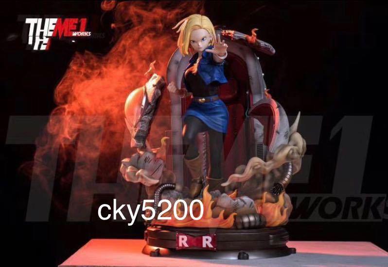 【予約中】ドラゴンボールフィギュア 人造人間 18号 海外限定GK フィギュア完成品_画像1