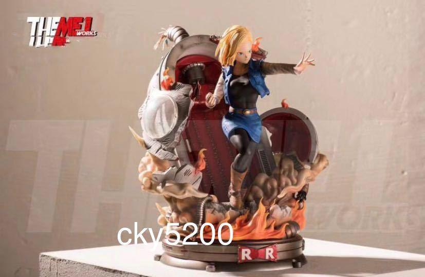【予約中】ドラゴンボールフィギュア 人造人間 18号 海外限定GK フィギュア完成品_画像3