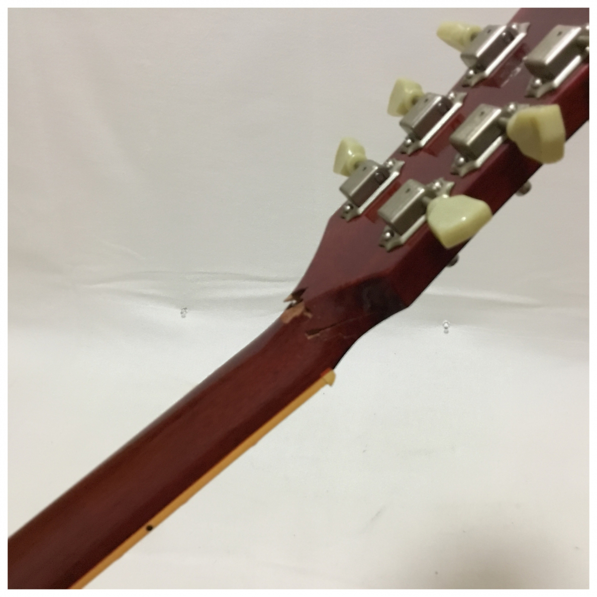 GIBSON ギブソン USA LesPaul Standard レスポール エレキギター 2004年製 ネック割れ_画像7