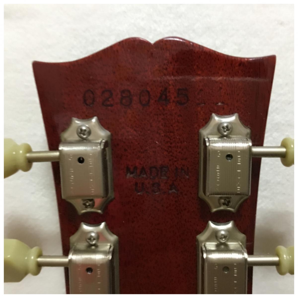 GIBSON ギブソン USA LesPaul Standard レスポール エレキギター 2004年製 ネック割れ_画像9