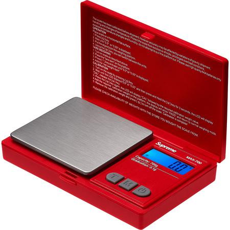 新品込み18aw Supreme AWS MAX-700 Digital Scale Red シュプリーム デジタル スケール 計量器 量り_画像2
