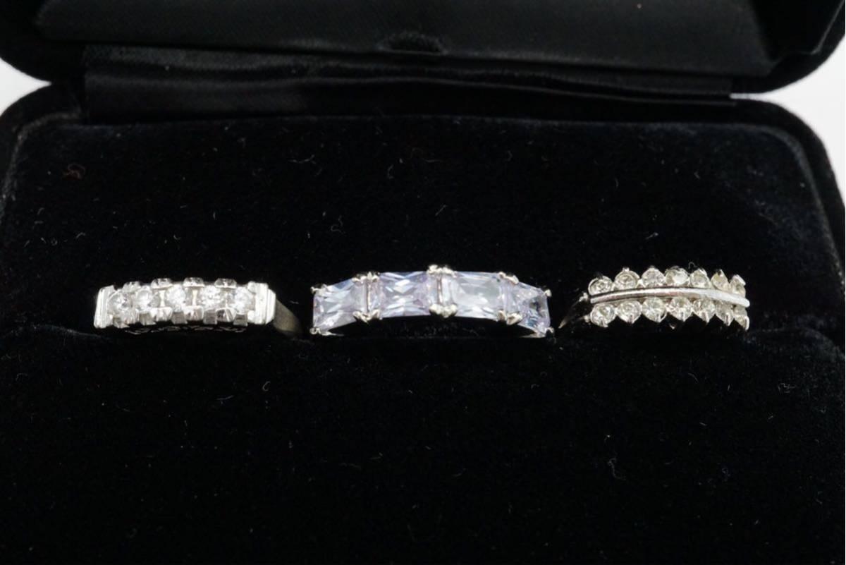 223 昭和レトロ ケース付き ヴィンテージリング 指輪 13点セット アクセサリー アンティーク 大量 まとめて おまとめ まとめ売り 装飾品_画像7
