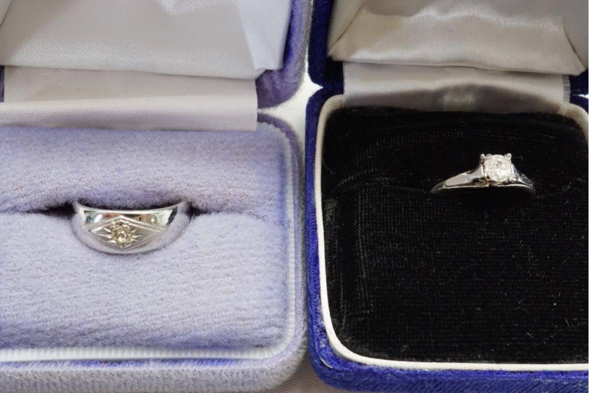 223 昭和レトロ ケース付き ヴィンテージリング 指輪 13点セット アクセサリー アンティーク 大量 まとめて おまとめ まとめ売り 装飾品_画像3