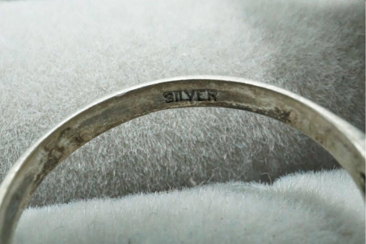275 緑石 天然石系 ヴィンテージリング 指輪 ペンダント ブローチ 14点セット アクセサリー ネックレス 大量 まとめて おまとめ SILVERなど_画像8