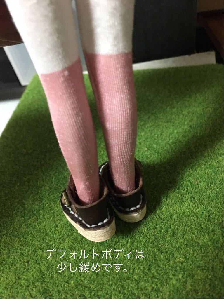 ハンドメイド 革靴 ブーツ ミニチュア 栃木レザー使用 (ピュアニーモS サイズ) 濃茶色 ブラウン リバティ_画像5