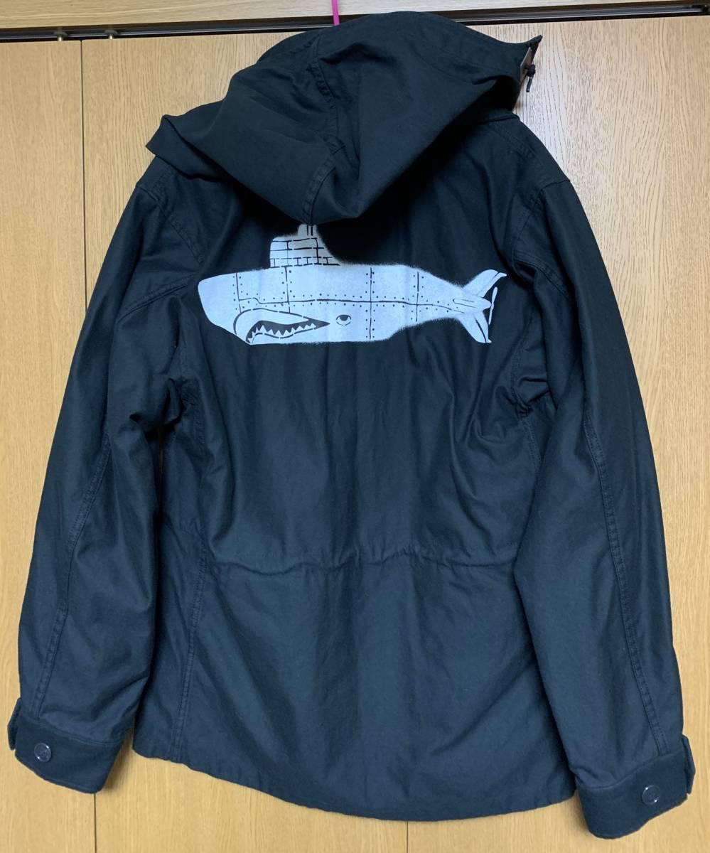 DESCENDANT ディセンダント 1943 SATIN JACKET 2 即決 BLACK 新品 ブラック サテン ジャケット 17 AW 未使用 正規品 MASASCULP CACHALOT 黒_画像1