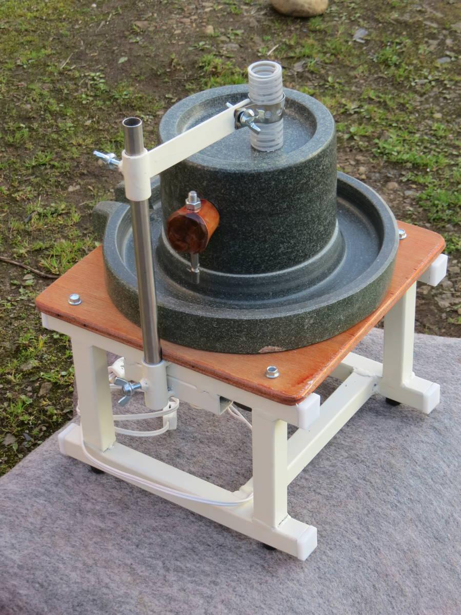 製粉機 電動石臼  新品⑩  茶臼 蕎麦 米粉 黄粉 コーヒー_画像3