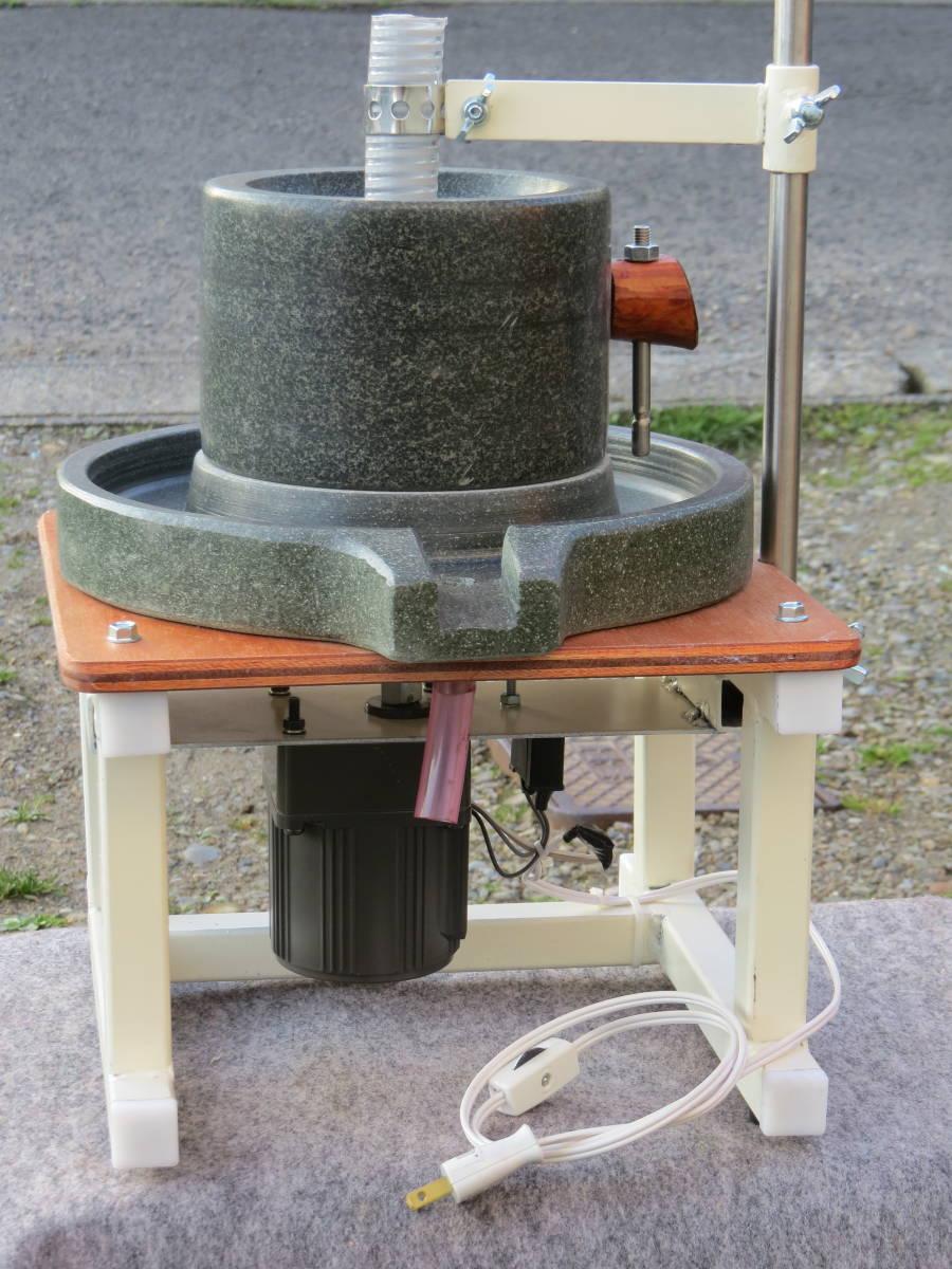 製粉機 電動石臼  新品⑩  茶臼 蕎麦 米粉 黄粉 コーヒー_画像10
