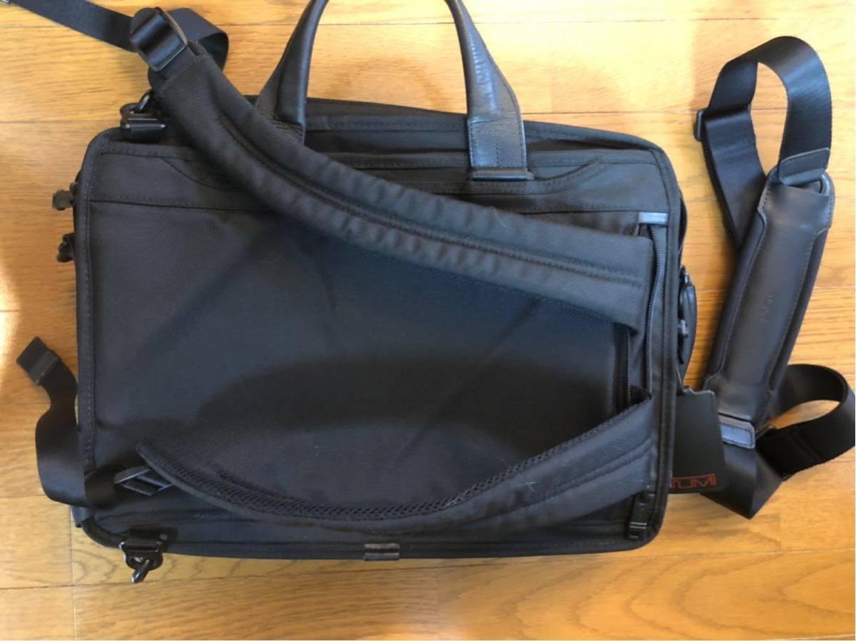 73,440円トゥミ ビジネスバッグ 公式 正規品 ALPHA2 スリーウェイ・ブリーフ 026180 D2 ブラック_画像2