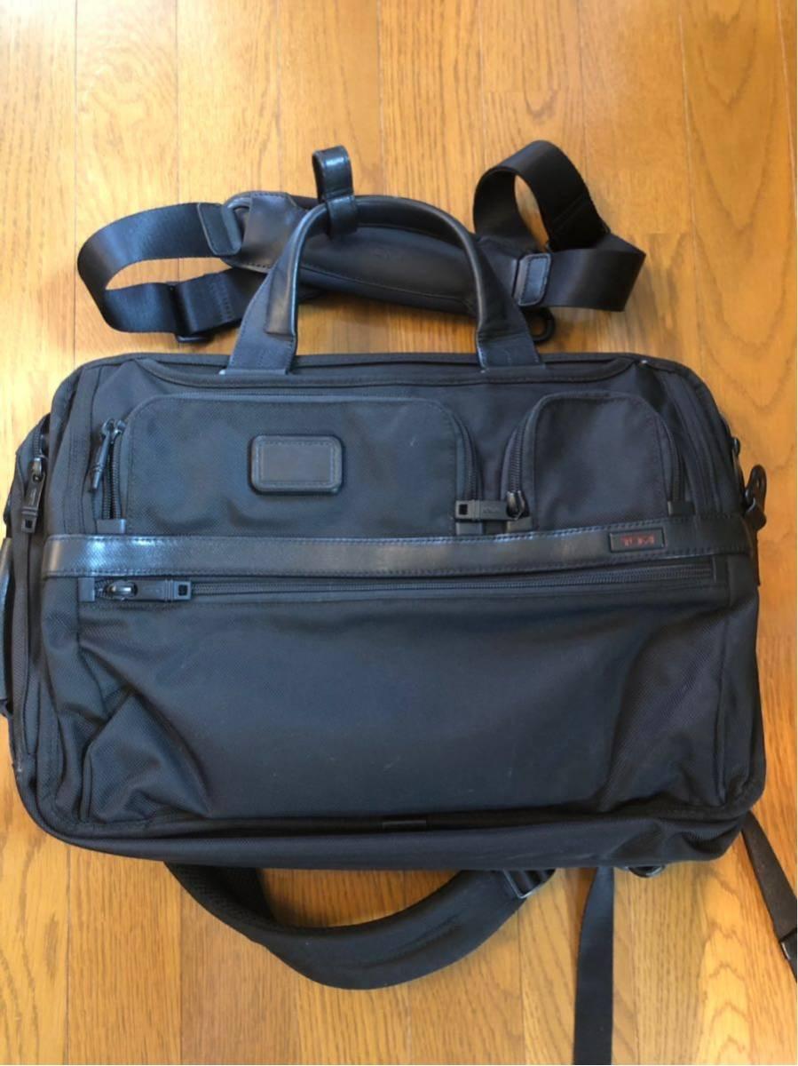 73,440円トゥミ ビジネスバッグ 公式 正規品 ALPHA2 スリーウェイ・ブリーフ 026180 D2 ブラック