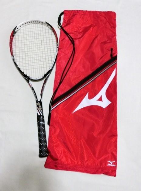 定価25920円 新品 ソフトテニスラケット ミズノ MIZUNO Xyst TT 軟式テニス ケース付 ガット加工済 ゼスト 前衛 カーボン
