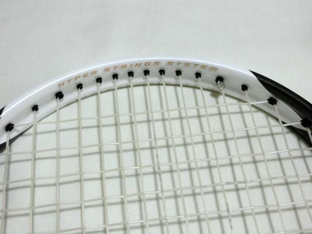 定価25920円 新品 ソフトテニスラケット ミズノ MIZUNO Xyst TT 軟式テニス ケース付 ガット加工済 ゼスト 前衛 カーボン_画像6