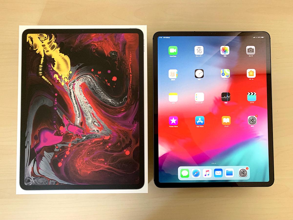 【1円・美品・送料込み】 Apple 12.9インチ iPad Pro Wi-Fi + Cellular 512GB スペースグレイ SIMフリー化 SoftBank ★ GW前にゲット!!