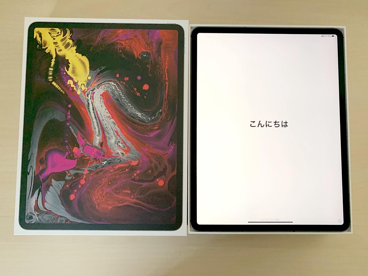 【1円・美品・送料込み】 Apple 12.9インチ iPad Pro Wi-Fi + Cellular 512GB スペースグレイ SIMフリー化 SoftBank ★ GW前にゲット!!_画像9