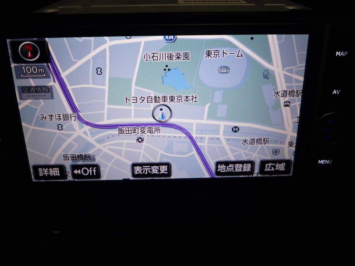 ★完動★トヨタ純正 フルセグ NHZD-W62G Bluetooth 地デジ DVD再生_画像5