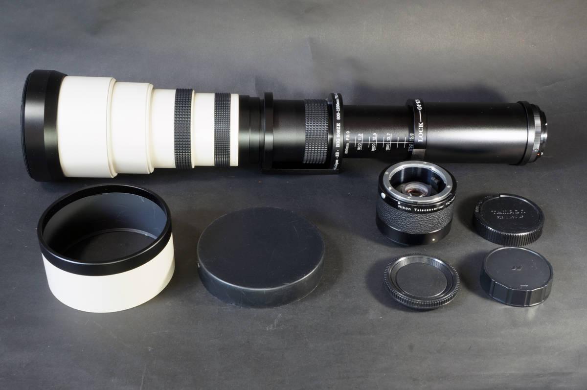テレコン付きで最大2500mmでの撮影が可能
