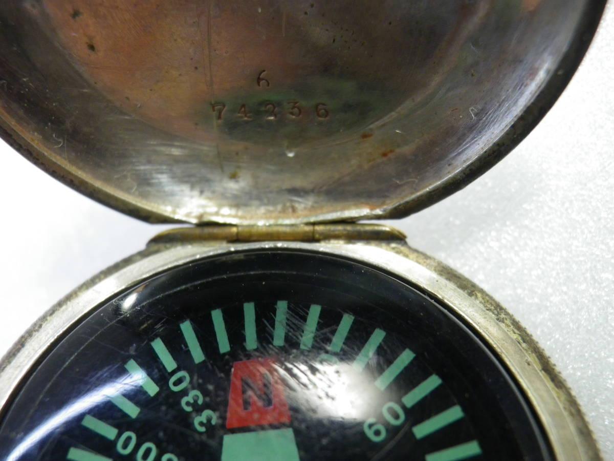 ★【SILVER800英国銀懐中時計型手作り品?方位磁石】★_画像7