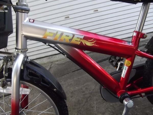 FIRE 18インチ 子供用自転車 子ども用自転車 男の子 男子_画像4