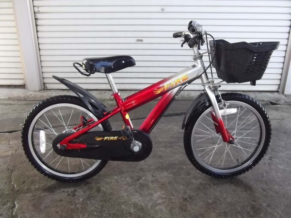 FIRE 18インチ 子供用自転車 子ども用自転車 男の子 男子_画像2