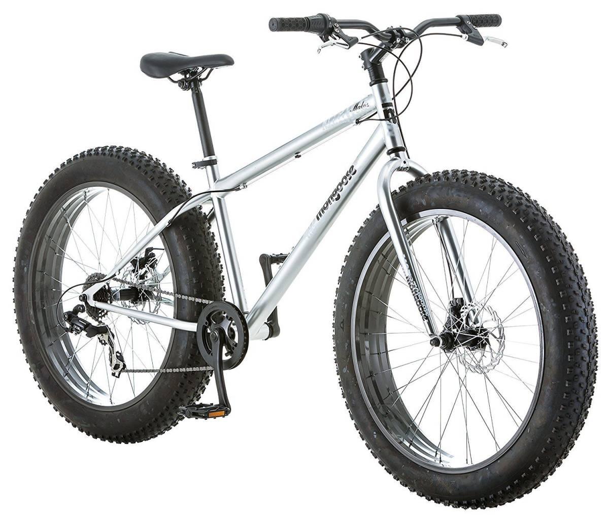 """BMX マングースメンズまたはボーイズMalus 26 """"7スピードファットタイヤクルーザー自転車BMXバイクNEW Mongo_画像2"""
